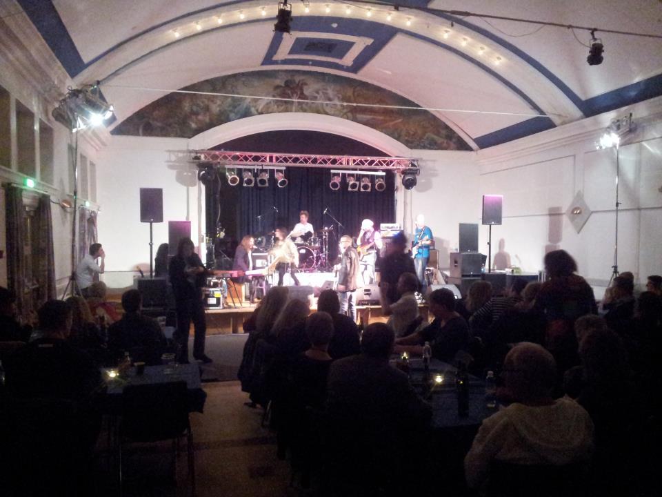 Musikforeningen Live afholdte et arrangement d. 9 november 2012